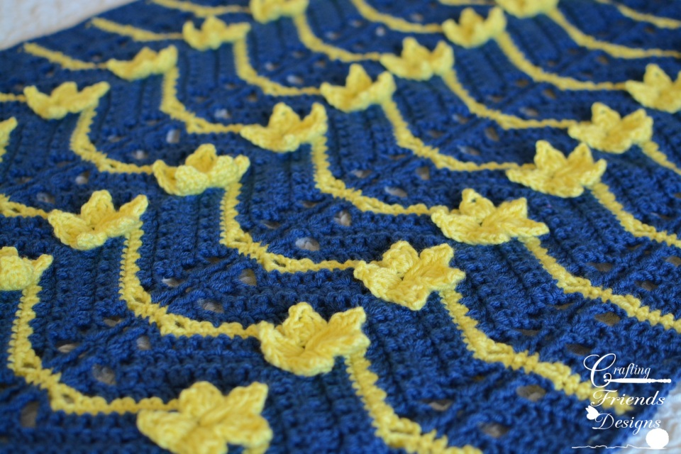 Starlight Chevron Afghan Crochet Pattern
