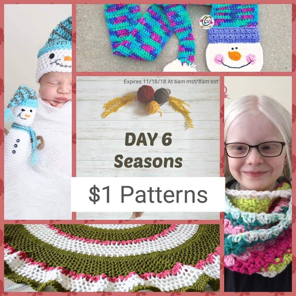 Day 6 of the 10 Days of Thanksgiving Crochet Event 2018