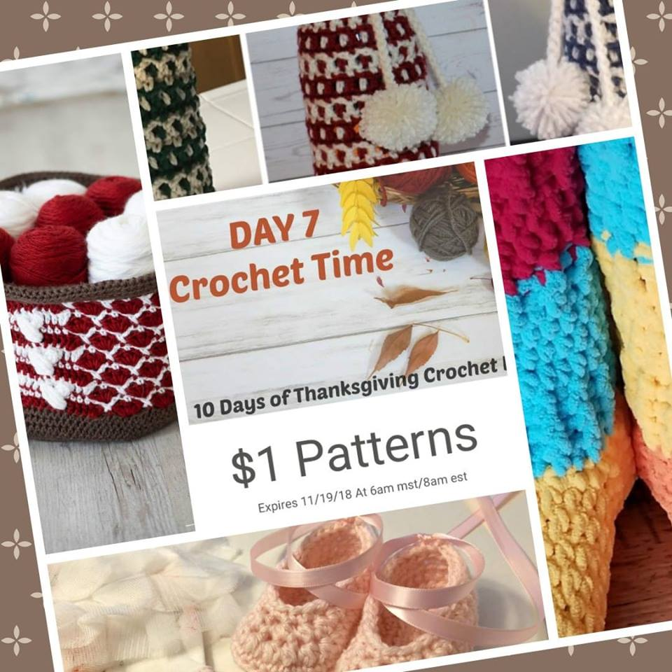 Day 7 of the 10 Days of Thanksgiving Crochet Event 2018