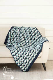 Sea Breeze Throw crochet pattern by Kate Wagstaff