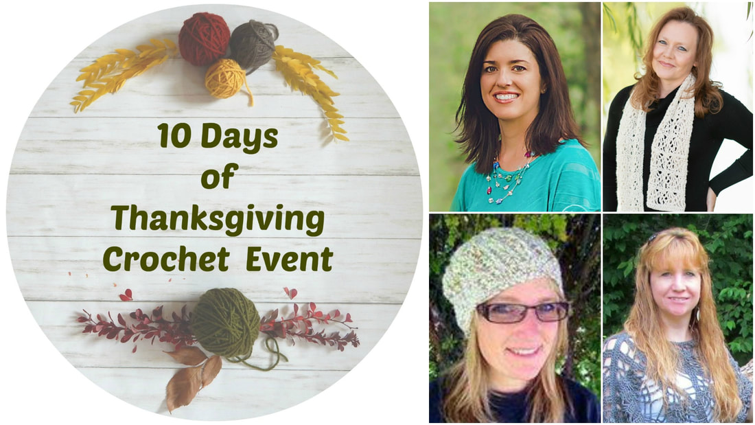 10 Days of Thanksgiving Crochet Event Designers