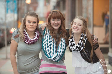 cowl crochet patterns by Crafting Friends Designs