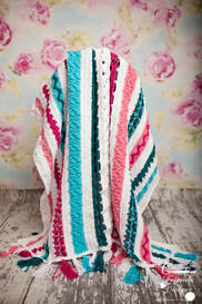 Free crochet pattern A Zig and A Zag Blanket