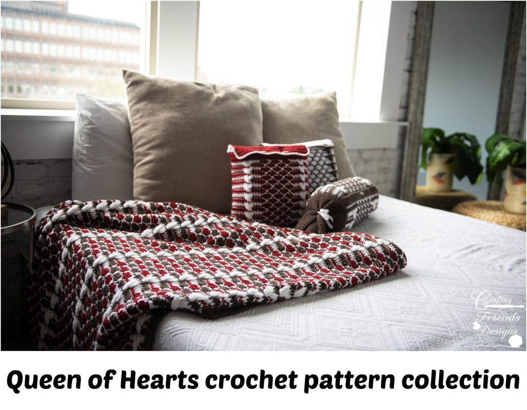 Queen of Hearts crochet pattern collection