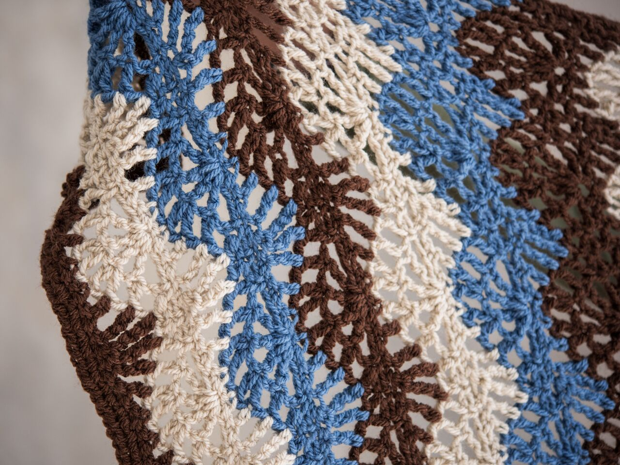 Ripple Lace Afghan Crochet Pattern By Crafting Friends Designs